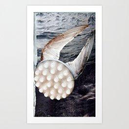 Winged Light Art Print