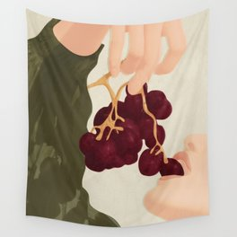 Hold me in the Present Wall Tapestry