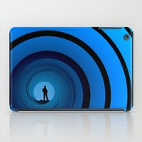 james bond iPad Cases featuring Bond Man by Steve Purnell