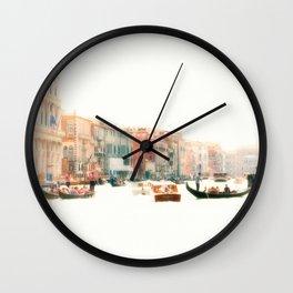 Venice, Italy Surreal Grand Canal Wall Clock