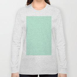 Simply Light Mint Green Long Sleeve T-shirt