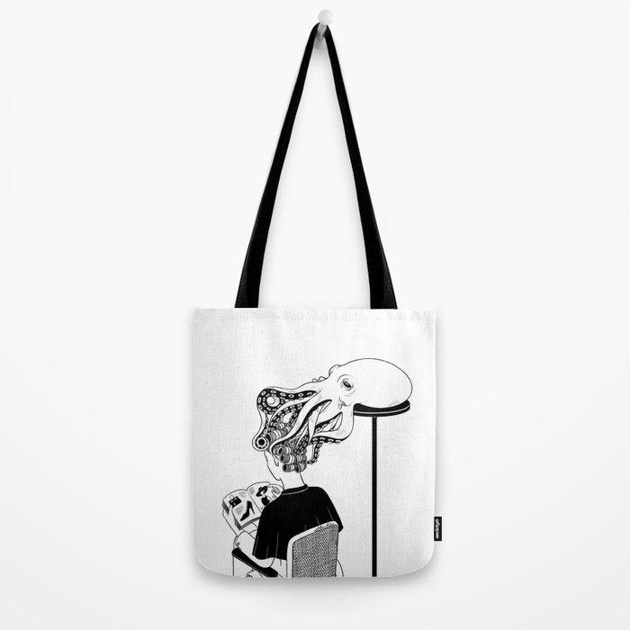Octopus Salon Tote Bag
