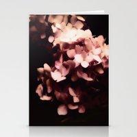 hydrangea Stationery Cards featuring Hydrangea by Christine Belanger