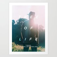 A MOVIE POSTER A DAY: TREE OF LIFE Art Print