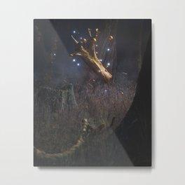Day 0632 /// My log saw something that night Metal Print