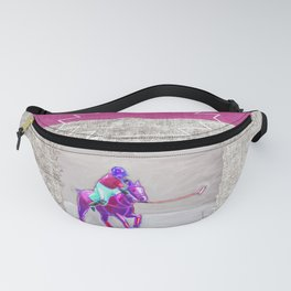 poloplayer grey-mauve Fanny Pack