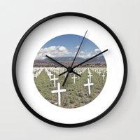 cross Wall Clocks featuring CROSS  by n a t