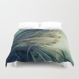 Lionfish mermaid Duvet Cover