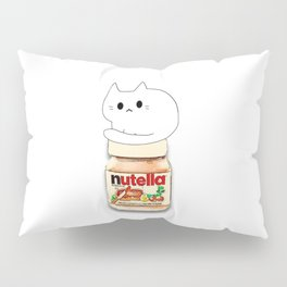 Cat & Nutella 115 Pillow Sham