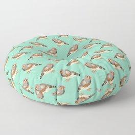 Zebra Finch Floor Pillow