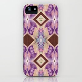 Inorganic materia iPhone Case