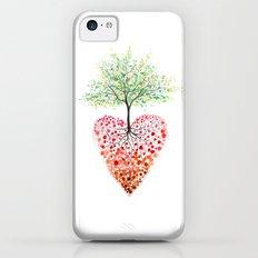 Tree of life heart iPhone 5c Slim Case