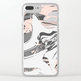 Unknown: abstract Clear iPhone Case