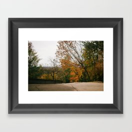 Atop Holy Hill Framed Art Print