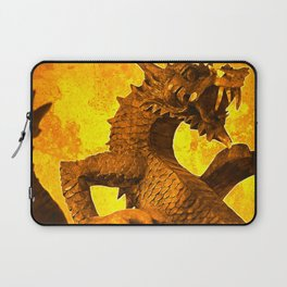 Carved Dragon Laptop Sleeve