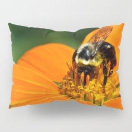 Bumblebee Hard At Work Pillow Sham