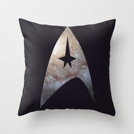 To Boldly Go: Galaxy Throw Pillow