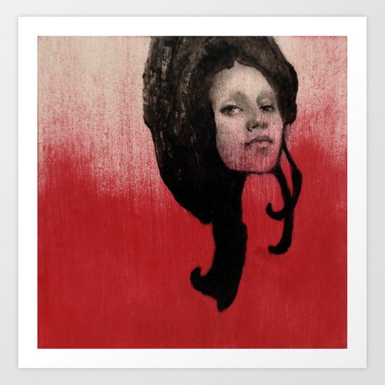 #46 Curl Art Print