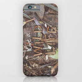 Live a Wild Life iPhone Case