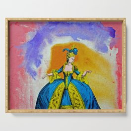 Marie Antoinette by Michael Moffa Serving Tray