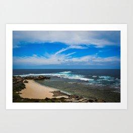 Rottnest Island Beach Art Print