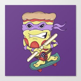 Pizza Donny Canvas Print