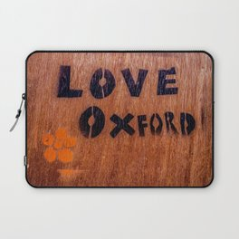 Love in Oxford, Oxford, England, UK Laptop Sleeve