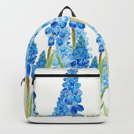 blue grape  hyacinth forest Backpack