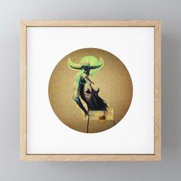 Pasiphaë - Wide-shining - Queen Framed Mini Art Print