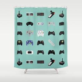 Console Evolution Shower Curtain