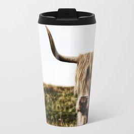 Highland Cow - color Travel Mug