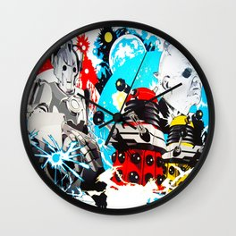 Doctor Who Mash Up Wall Clock