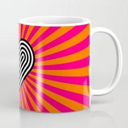 Pop art heart Coffee Mug
