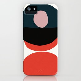 Abstract stains iPhone Case