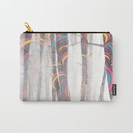 See Through Color Carry-All Pouch
