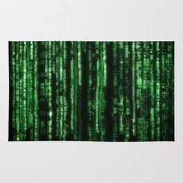 Green Code Rug