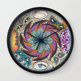 Seek Your Truth Wall Clock