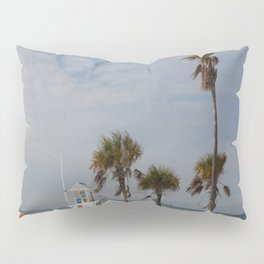 Clearwater Beach In Wintertime Pillow Sham
