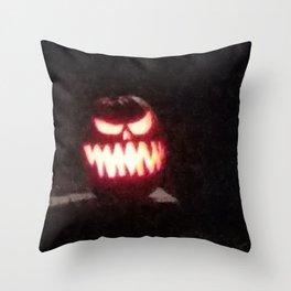 Pumpkin Bob Throw Pillow