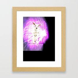 Lamb on the Fire Works Framed Art Print