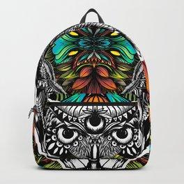 Owl color Backpack