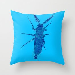 Sandfly Throw Pillow