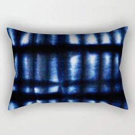 Shibori Folds Rectangular Pillow