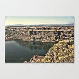 Lake Billy Chinook Canvas Print