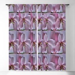 Peach Blossom Flower Pattern Blackout Curtain