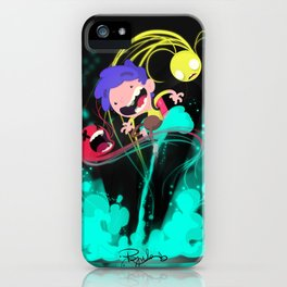 Tje Jet Pack iPhone Case