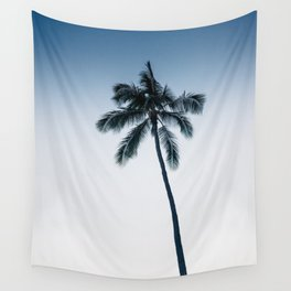 palm tree ver.navy Wall Tapestry