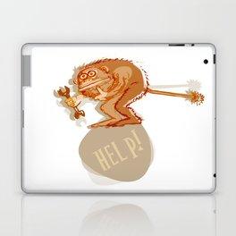 Help monkey Laptop & iPad Skin