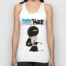 DORK TOWER - Gilly Unisex Tank Top