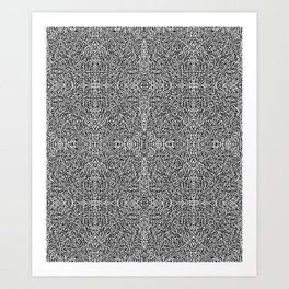 Frost Design Studio - Tribal Pattern Art Print